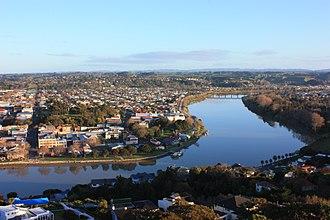 Whanganui - Image: Whanganui River to Dublin Street Bridge