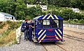 Wickham railcar at Laxey - geograph.org.uk - 1659306.jpg