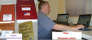Preparation (principle) - Wikipedian preparing for a new article