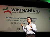 Wikimanía 2015 - Day 4 - Luis von Ahn conference - LMM (9).jpg