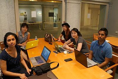 Participants at Wikipedia APA