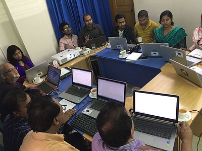 Wikipedia Workshop for Bangladesh NGOs Network for Radio and Communications staffs 03.jpg