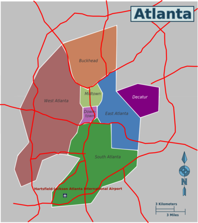 Atlanta – Travel guide at Wikivoyage