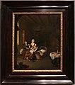 Willem van mieris, una madre dà da mangiare al figlio, 1707.jpg