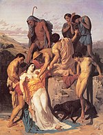 William Adolphe Bouguereau Zenobia Found by Shepherds on the Banks of the Araxes.jpg