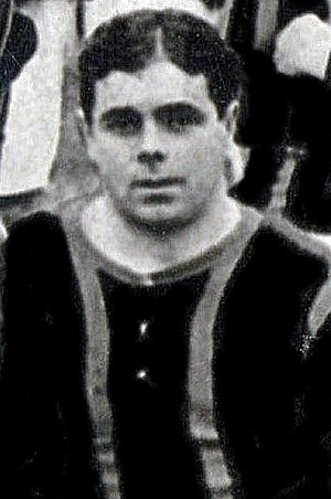 William Jaffray (footballer) - Jaffray while with Brentford in 1908.