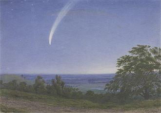 Comet Donati - Image: William Turner of Oxford 1859 Donati's Comet