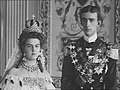 William of Sweden and Maria Pavlovna's wedding (1908) crop.jpg