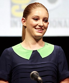 Willow Shields tijdens Comic-Con in 2013