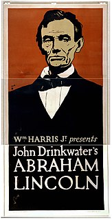 <i>Abraham Lincoln</i> (play) John Drinkwater play