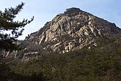 Wolchulsan mountain peak.jpg