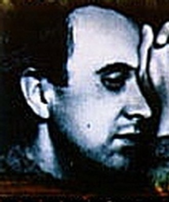 Wolfgang Borchert - Borchert's profile, from a 1996 German stamp