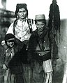 Woman with two children in Mirditë (Carleton Coon, 1929).jpg