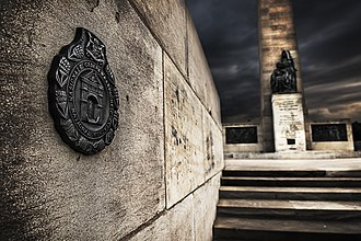 National Women's Monument - Image: Women's Memorial Detail