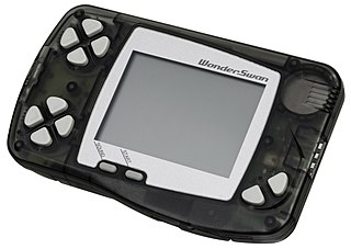 WonderSwan handheld video game console by Bandai