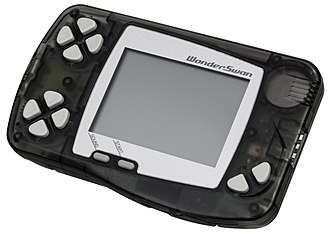 WonderSwan - Image: Wonder Swan Black Left