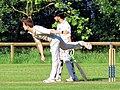 Woodford Green CC v. Hackney Marshes CC at Woodford, East London, England 112.jpg