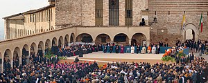 "Day of Prayer - Meeting of the participants of the fourth ""World Day of Prayer for Peace"" in Assisi (2011)"