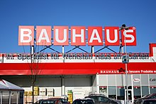 bauhaus baumarkt wikipedia. Black Bedroom Furniture Sets. Home Design Ideas