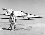 X-24B with Test Pilot Bill Dana, Following last Powered Flight DVIDS740091.jpg