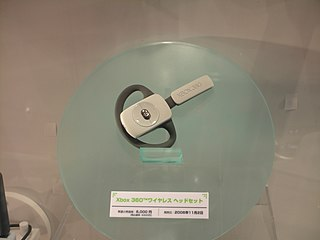 Xbox 360 Wireless Headset at TGS 2006.jpg