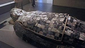 Jade burial suit - Jade burial suit of Liu Sui, Prince of Liang, of Western Han, made with 2,008 pieces of jade