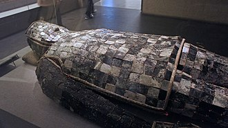 Jade burial suit - Jade burial suit of Liu Sui, Prince of Liang, of Western Han, made with 2,008 pieces of jade