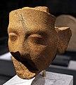 Xviii dinastia, testa di regina forse nefertiti, da amarna, 1340 ac ca.jpg