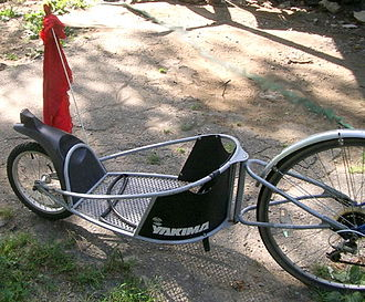 Bicycle trailer - Single-wheel trailer