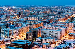 Central Yakutsk from the air