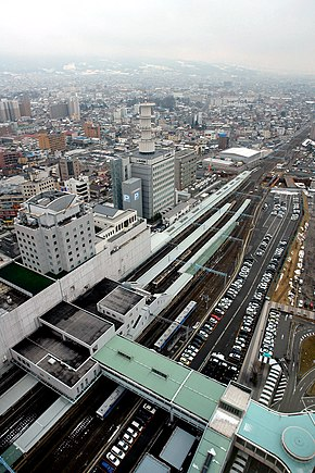 Yamagata Station 2006 Highangle.jpg