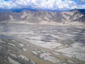 Yarlung Tsangpo River - Yarlung Tsangpo southwest of Lhasa