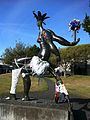 YarnBombed PacificMonarch PalmerstonNorth.jpg