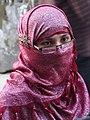 Young Muslim Woman on Street - Sylhet - Bangladesh (12968288153).jpg