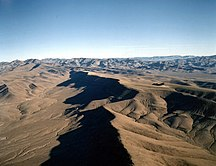 Nevada-Religion-Fil:Yucca Mountain crest aerial
