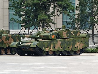 People's Liberation Army Ground Force - Image: ZTZ 99A MBT 20170716