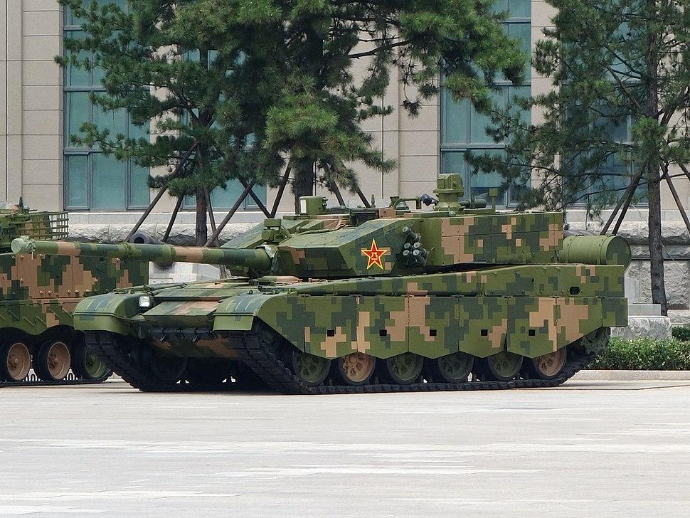 ZTZ-99A MBT 20170716