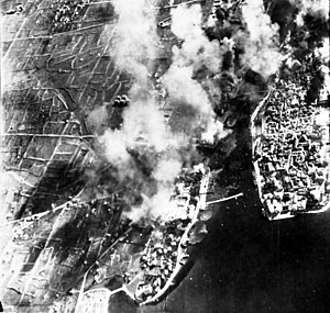 Bombing of Zadar in World War II - Image: Zadar bombardiran 1944.78577