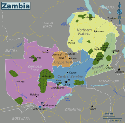 Zambia Travel guide at Wikivoyage