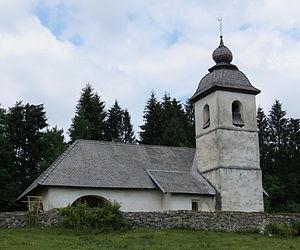 Zasip - Image: Zasip Slovenia St Catherine Church