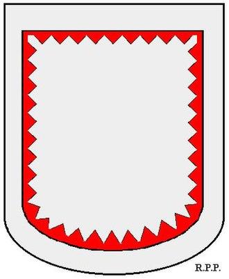 Orle (heraldry) - Image: Zeer smal getande binnenzoom