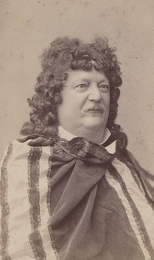 Conrad Ferdinand Meyer - Conrad Ferdinand Meyer in a costume, around 1883