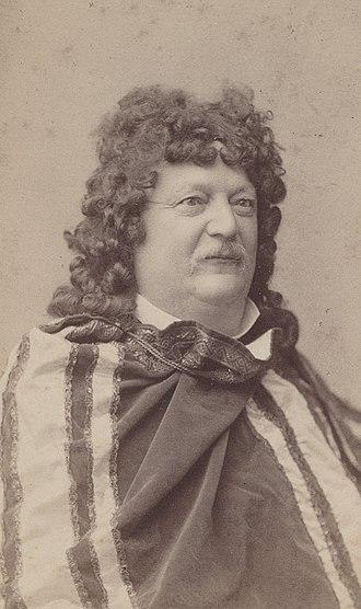 Conrad Ferdinand Meyer - Conrad Ferdinand Meyer in a costume, around 1883