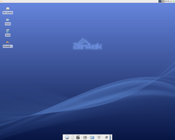 Screenshot of Zenwalk Linux 5.2