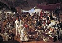 Zoffani, Johann - Colonel Mordaunt's Cock Match - 1784-86.jpg