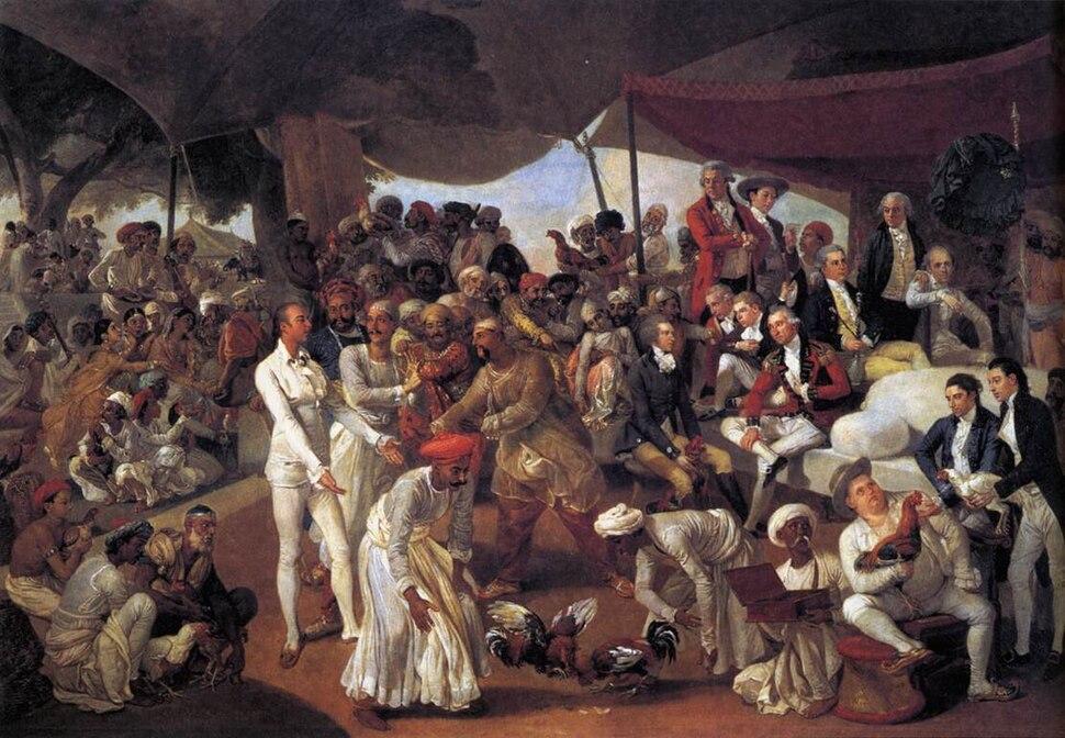 Zoffani, Johann - Colonel Mordaunt's Cock Match - 1784-86