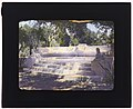 """Arcady,"" George Owen Knapp house, Sycamore Canyon Road, Montecito, California. Lower garden, exedra at terminus of walkway LCCN2007685037.jpg"