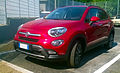 """ 15 - ITALY - Fiat 500X off road Arese - red SUV cool Fashion car 04.jpg"