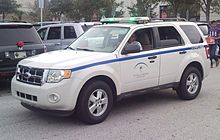 Emergency vehicle lighting wikipedia the mall at millenia security vehicle using green lights aloadofball Image collections
