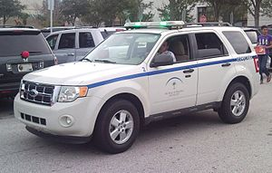 The Mall at Millenia - Ford Escape mall security vehicle